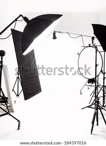 Studio Background - stock photo