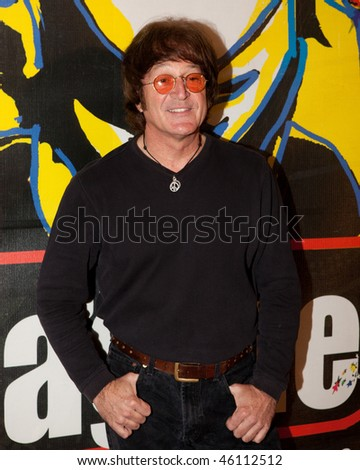 STUDIO CITY, CA - JAN 28: Tim Piper attends John Lennon last concert Just Imagine starring Tim Piper as John Lennon on January 28, 2009 in Studio City, California. - stock photo