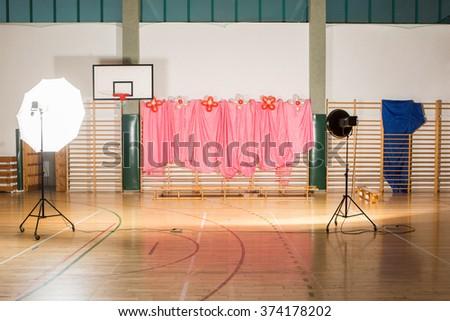 studio photo in  school  - stock photo