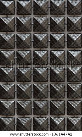studs pattern - stock photo