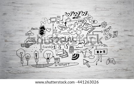 Study business science - stock photo