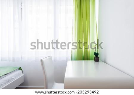 Study desk - stock photo