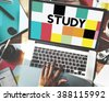 Study Education Knowledge Wisdom Studying Concept - stock photo