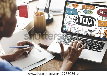 Study Learning Understanding Education Insight Concept - stock photo