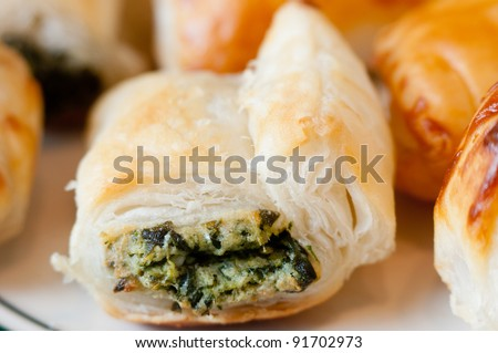 stuffed appetizers for cocktail parties, events or simply as a snack - stock photo