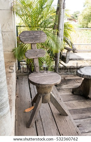 furniture made from tree stumps. Stump Chair, Garden Furniture Made From Wooden Log Tree Stumps