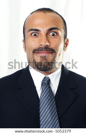 Stunned Expression - stock photo
