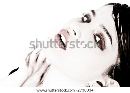 stunning commercial look - stock photo