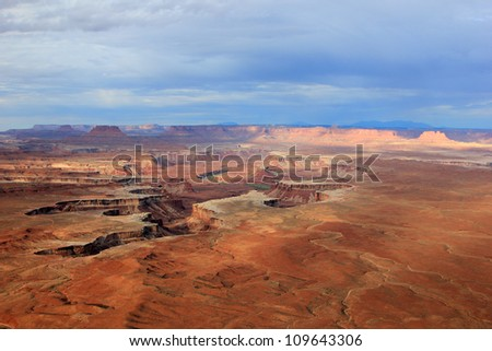 Stunning view in Canyonlands National Park, Utah, USA.