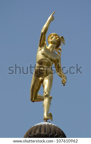 Mercury Sculpture God mercury statue made by