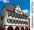 Stuttgart - Weil der Stadt town hall close up, Baden Wurttemberg, Germany - stock photo