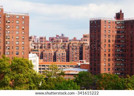 Stuyvesant Townâ??Peter Cooper Village in Manhattan, New York City - stock photo