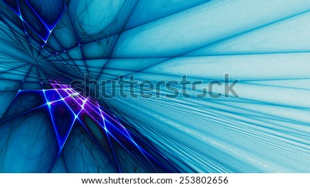 Stylish abstract background in shades of blue pearl with iridescent highlights - stock photo