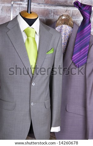 Stylish business suit