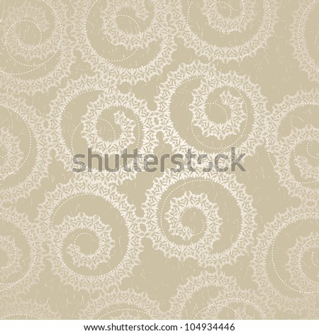 Stylish Elegant seamless lace wallpaper - stock photo