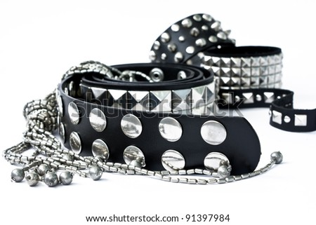Stylish female accessories - stock photo