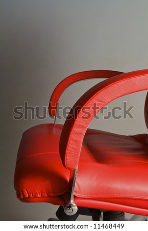 Stylish office of armchair for the boss