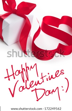 Stylized valentine hearts  - stock photo