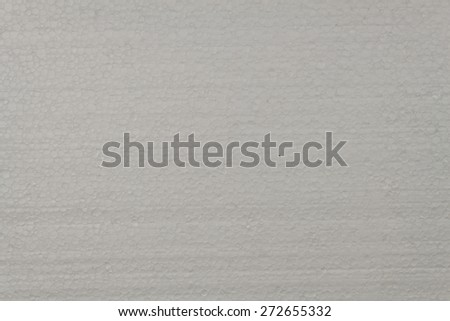 Styrofoam plates, a detailed look at the structure of polystyrene - stock photo
