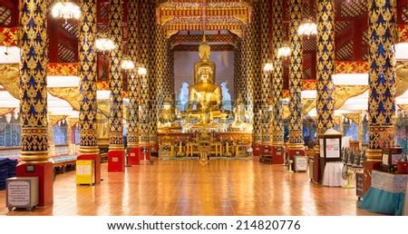 Suan Dok Temple, Chiang Mai, Thailand. - stock photo