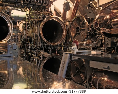 Submarine - WWII - stock photo