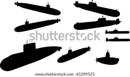 Submarines - stock photo