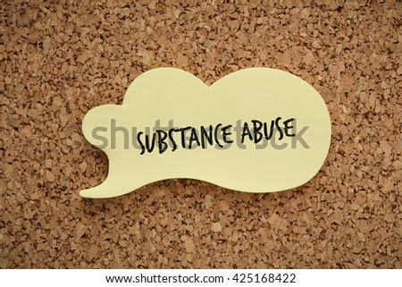 Substance Abuse - stock photo