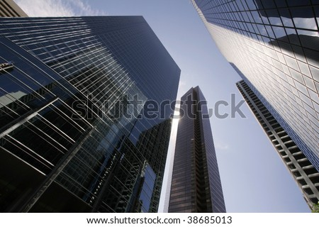 Success and wealth by any mean - stock photo