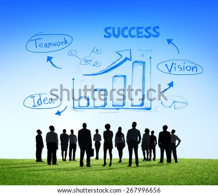Success Business Conference Meeting Seminar Team Teamwork Concept - stock photo