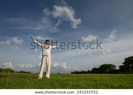 success happiness concept - stock photo