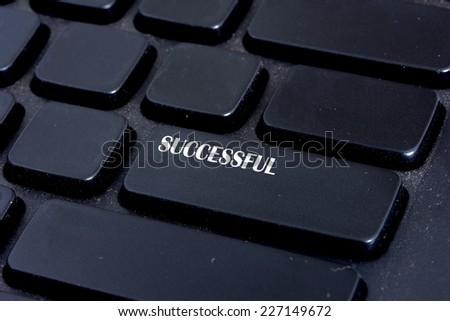 Successful Botton - stock photo