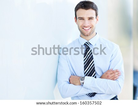 Successful business man  - stock photo