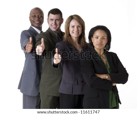 Successful business team