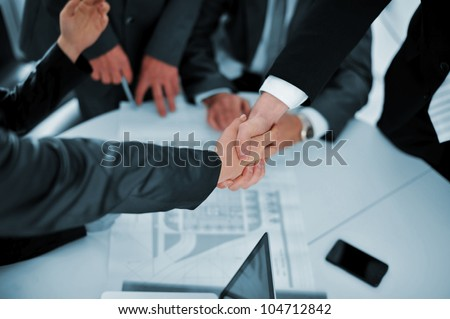 Successful deal - stock photo