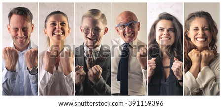 Successful people - stock photo