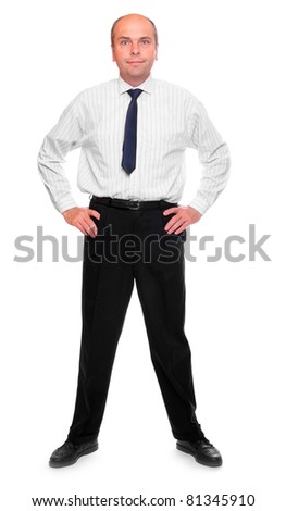 Successful senior businessman. - stock photo