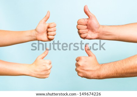Successful team concept - stock photo
