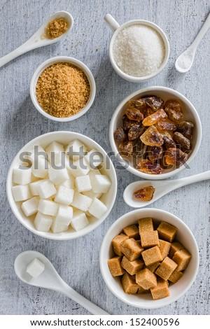 Sugar - stock photo