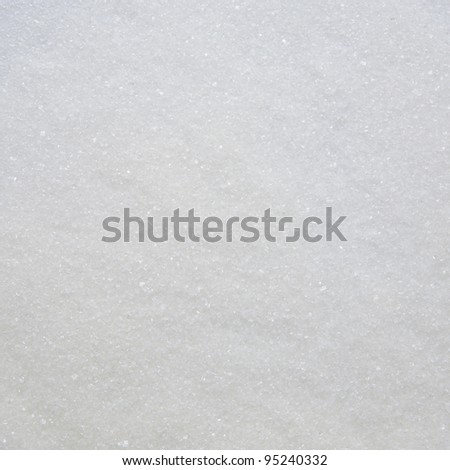 sugar close-up as an abstract background or texture - stock photo