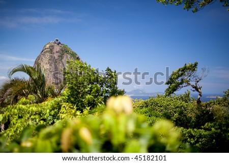 Sugar Loaf Mountain in Rio de Janeiro - stock photo