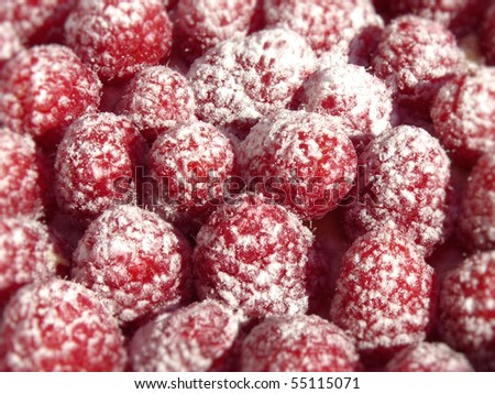 sugar sweet raspberries