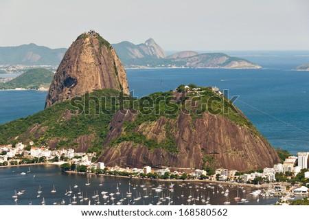 Sugarloaf Mountain, Rio de Janeiro, Brazil - stock photo