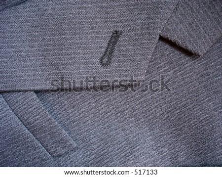 suit detail - stock photo