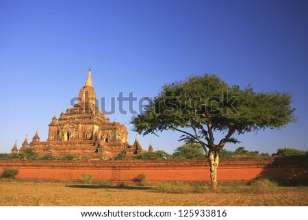 Sulamani temple, Bagan Archaeological Zone, Mandalay region, Myanmar, Southeast Asia