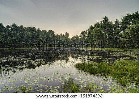 Sullivan County is a county located in the U.S. state of New York - stock photo