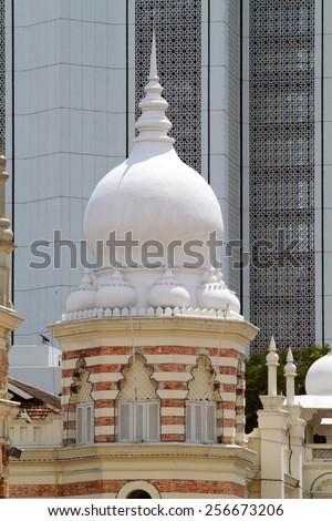 Sultan Abdul Samad Building, Kuala Lumpur  - stock photo