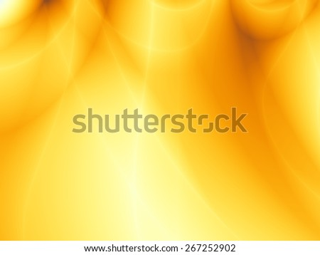 Summer abstract yellow energy flow sunny background - stock photo