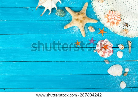 Summer accessories - stock photo