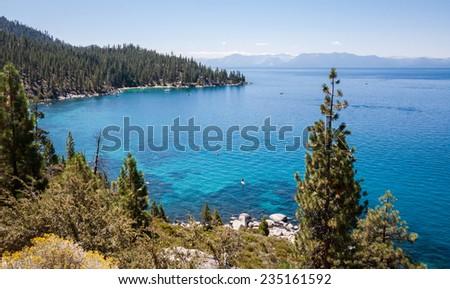 Summer at Lake Tahoe, California / Nevada.  - stock photo