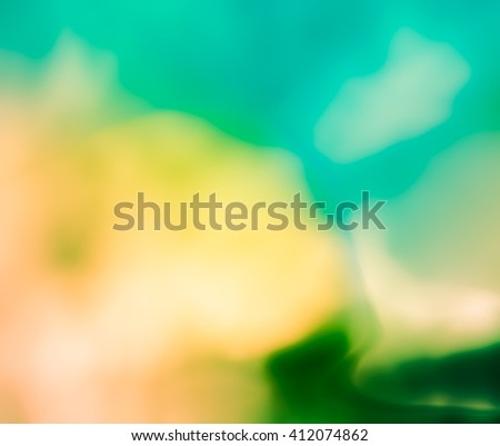 Summer background, joyful and sunny. An atmosphere of warmth, ease and relaxation, happiness and carefree. Pastel warm colors, blurry textures - stock photo